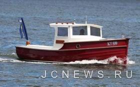 Toonalook - лодка в стиле 60--х годов, но оснащенная современным японским дизелем