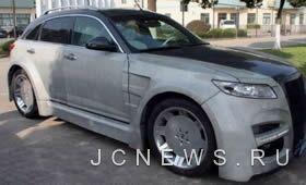 Китайский тюнинг автомобиля Infiniti FX45