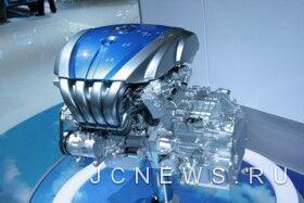 Экспериментальный бензиновый двигатель Mazda семейства Sky