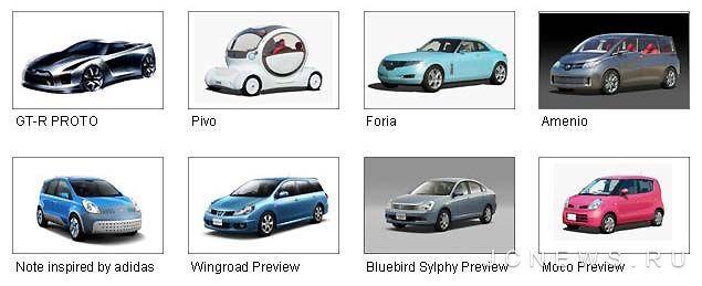 Новинки от Nissan