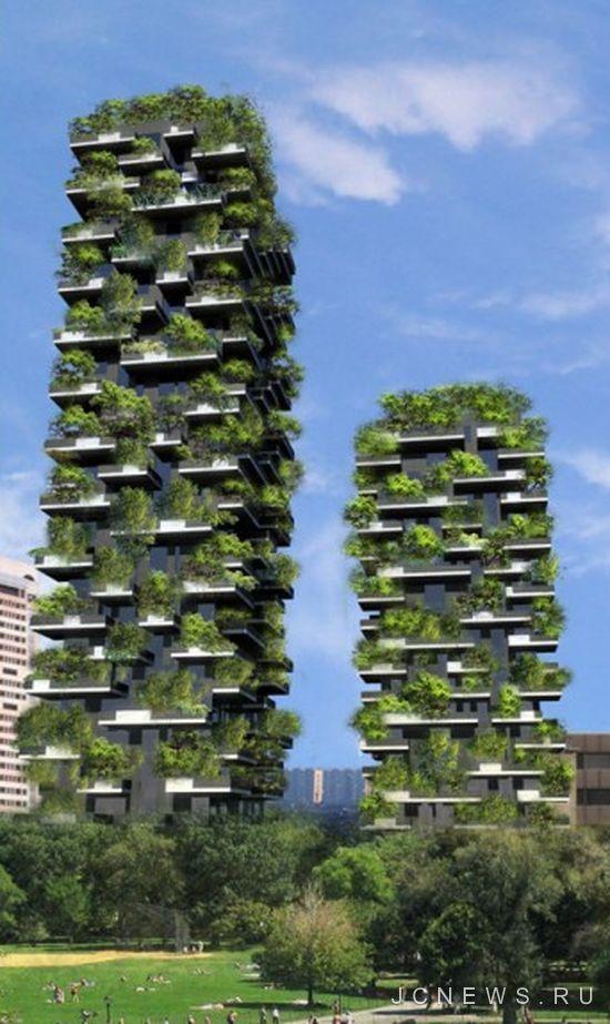 В Милане появится вертикальный лес