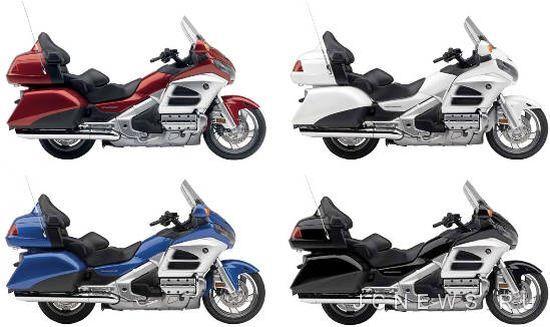 Мотоциклы Honda Gold Wing