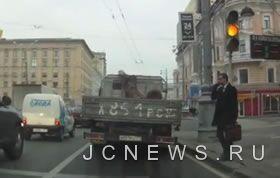 Как переходят дорогу в России (Видео)