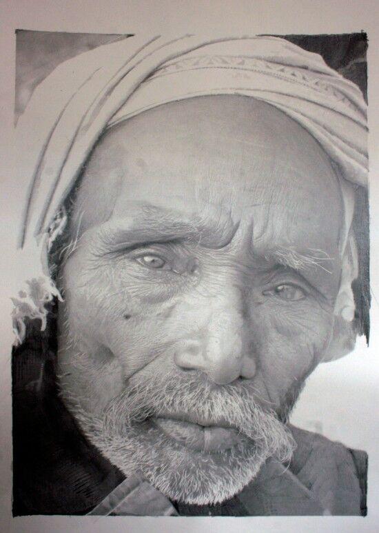 Рисунки графитом и мелом могут заменить фотографии