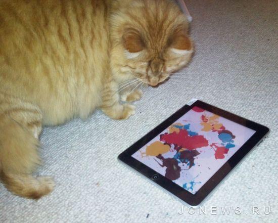 Приложения для кошек в iPad