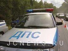 Нарушитель ПДД угнал патрульную машину