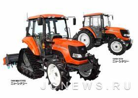 Kubota обновила 44 модели тракторов