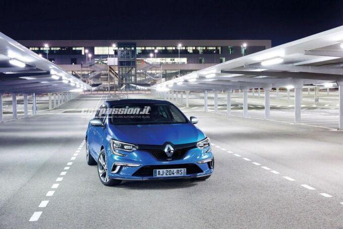Произошла утечка первых официальных изображений Renault Megane