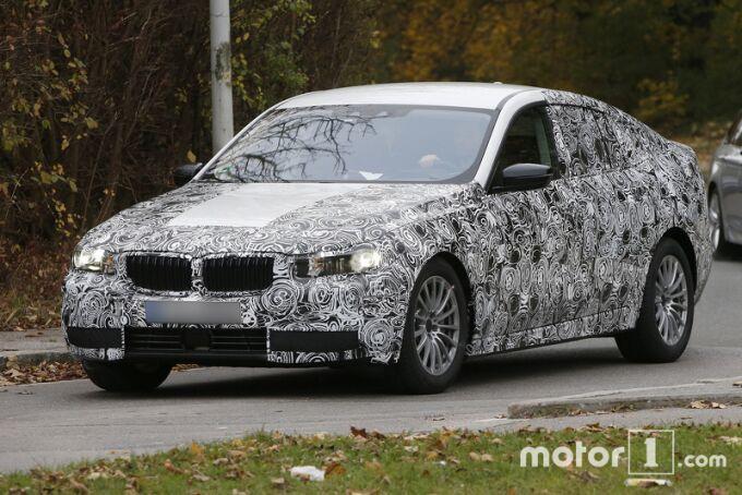 BMW впервые показал новый 5-Series GT