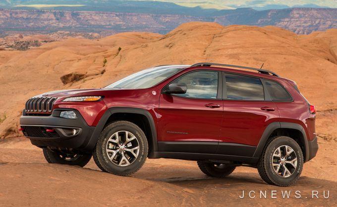 Jeep Cherokee отзовут из-за опасности возгорания