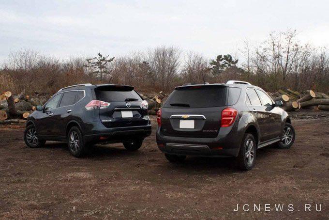 Краткий обзор: Nissan Rogue против Chevrolet Equinox