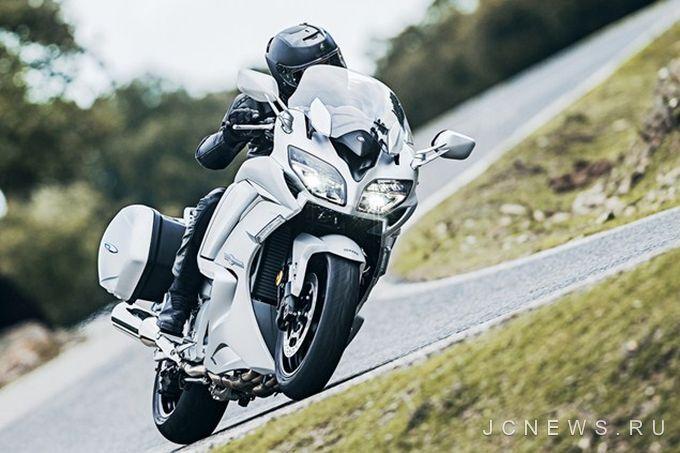 Yamaha FJR1300 получил обновление к 2016 году