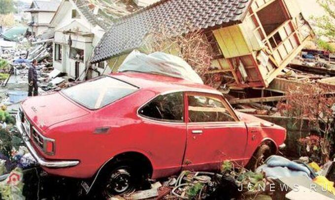 В Японии восстановили старую Corolla, поврежденную цунами
