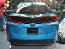 Toyota Prius Prime показали в Нью-Йорке