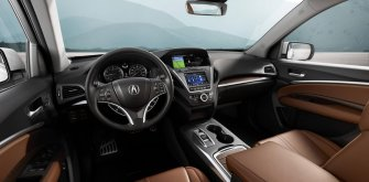 Acura демонстрирует рестайлинг MDX