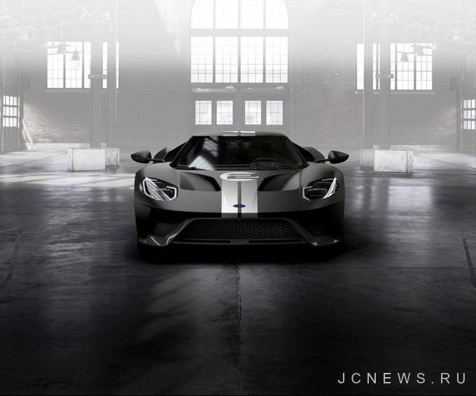 Ford напомнил о победе в Ле-Мане специальной версией GT