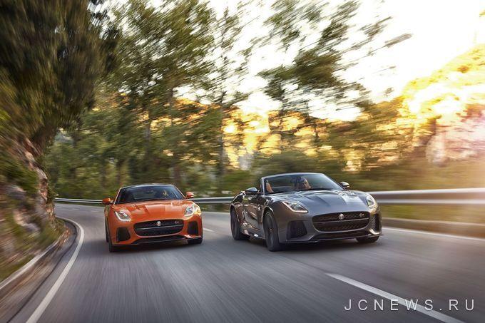 Jaguar Land Rover запланировал несколько новых моделей SVR