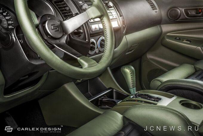 Carlex Design подготовил Toyota Tacoma к походу в армию