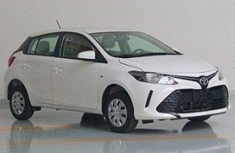 Первые фото хэтчбека Toyota Vios и седана Toyota Yaris L