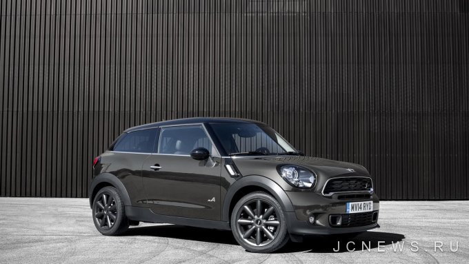 Mini Paceman станет Countryman Coupe автомобили новость на Jcnewsru