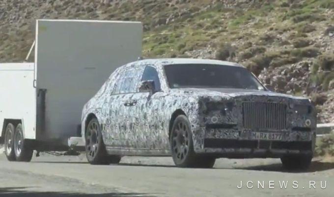 Rolls-Royce Phantom вошел в роль тягача