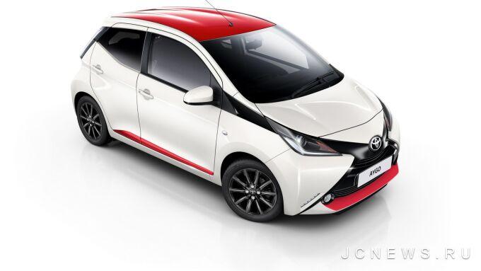 Toyota выпускает Aygo в версиях x-press и x-style
