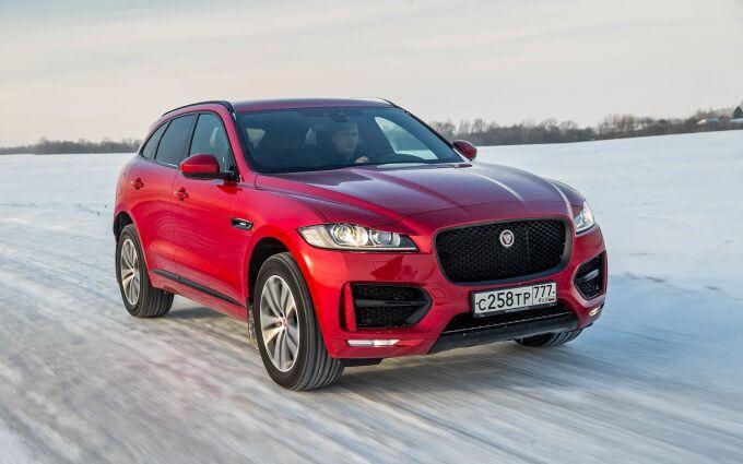 Jaguar F-Pace: испытание русской зимой