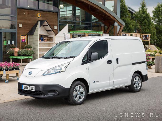 Nissan e-NV200 стал самым продаваемым электрическим фургоном