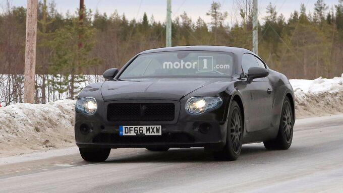 Bentley Continental GT показал последнюю версию дизайна