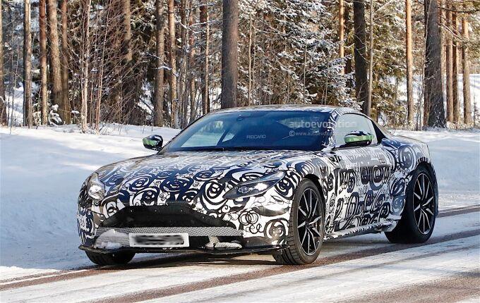 Aston Martin проверил DB11 S в деле