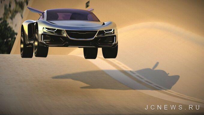 Saab готовит автономный суперкар AiroX