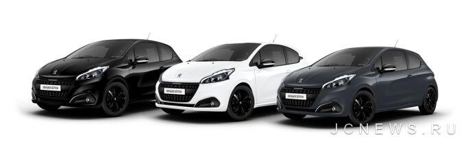 Peugeot 208 получил спецверсию Black Edition