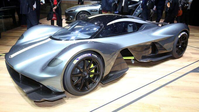 Aston Martin детально показал новую Valkyrie