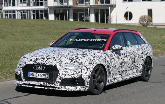 Audi проверил новый RS4 Avant в Нюрбургринге