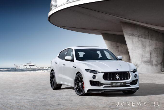 Maserati Levante получил тюнинг от Startech