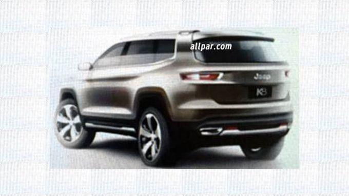 Jeep может представить в Шанхае семиместный концепт