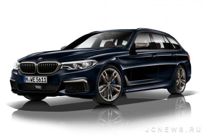 BMW M550d xDrive получит рядный двигатель и 4 турбонагнетателя