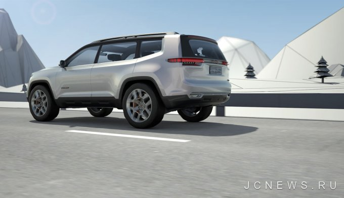 Jeep Yuntu стал предвестником серийной 7-местной модели
