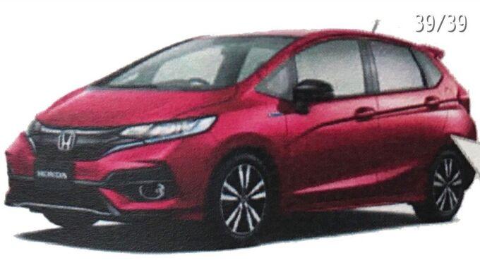 Произошла утечка данных насчет нового Honda Fit