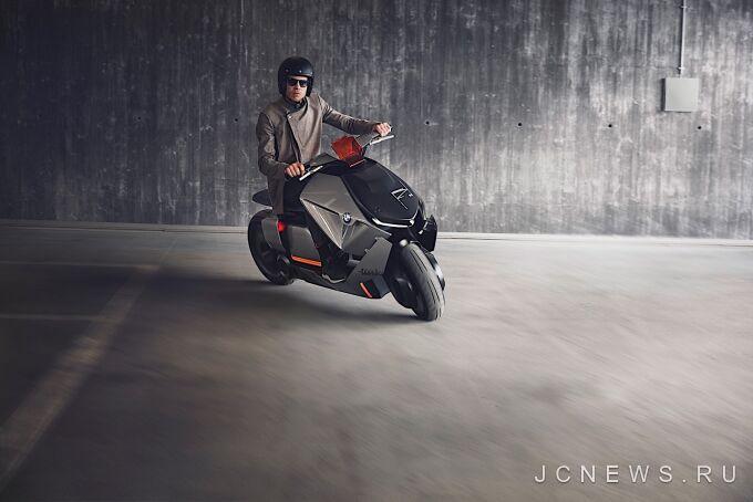 BMW Motorrad подготовил футуристический скутер
