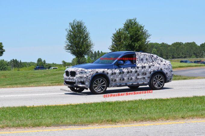 BMW X4 показали в камуфляже