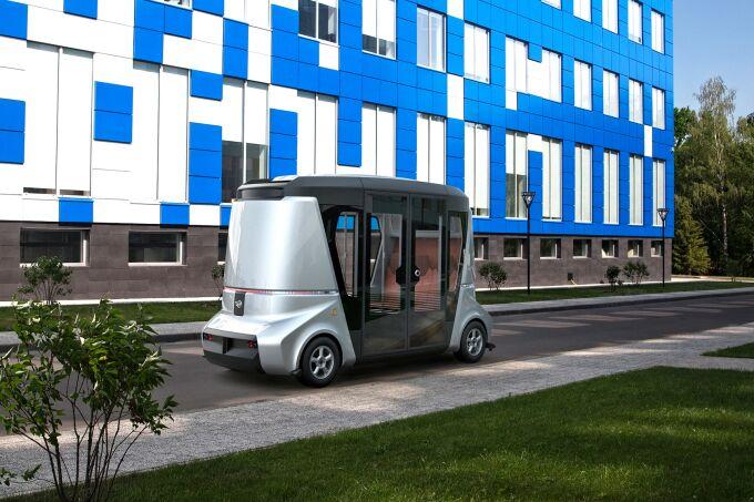 Владивосток станет местом тестирования первых в России беспилотных автобусов