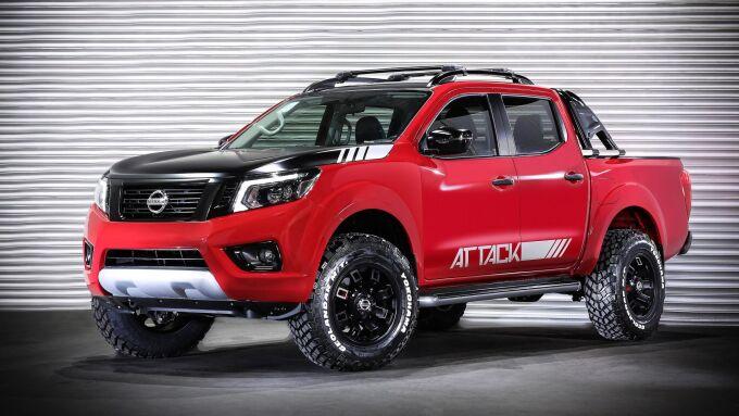 Nissan Frontier дополнили концептом Attack в Латинской Америке