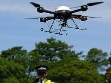 Британская дорожная полиция наняла на работу дроны