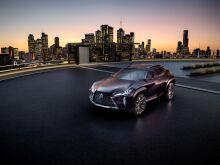 Lexus привезет серийную версию UX на Токийский автосалон