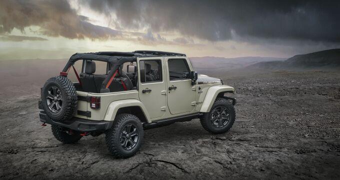 Jeep выпустил специальную версию Wrangler Rubicon Recon