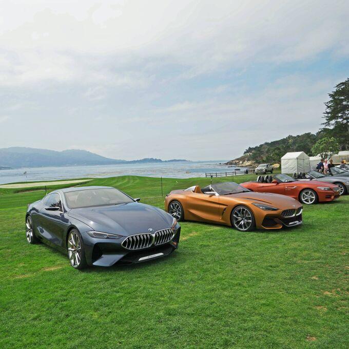 BMW представил в Пеббл-Бич новые Z4 и 8 Series