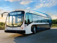 Электрический автобус Proterra Catalyst E2 max показал рекордный пробег свыше 1700 км