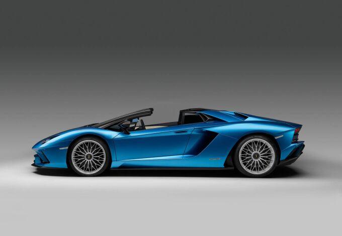 Премьера на Франкфуртском автосалоне: Lamborghini Aventador S Roadster
