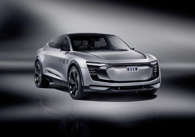 Audi Elaine — продвинутая версия E-Tron Sportback